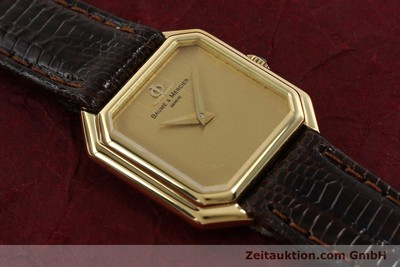 BAUME & MERCIER 18 CT GOLD MANUAL WINDING KAL. BM550 LP: 6300EUR [140893]