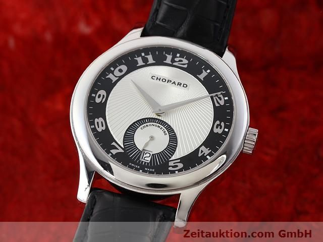 CHOPARD 18K WEISS GOLD L.U.C. 3.96 AUTOMATIK Mark II Ref: 161905 VP: 11000,- EUR [140901]