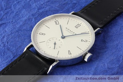 NOMOS TANGENTE STEEL MANUAL WINDING KAL. ETA 7001 [140902]