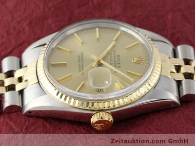 ROLEX DATEJUST STEEL / GOLD AUTOMATIC KAL. 3035 [140905]