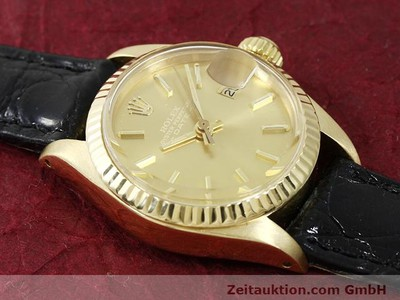 ROLEX LADY DATE 18 CT GOLD AUTOMATIC KAL. 2030 [140921]