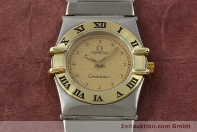 Omega Constellation Stahl / Gold Quarz Kal. 1455 ETA 976001 [140922]
