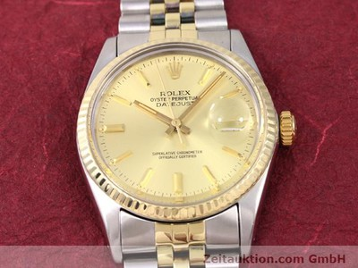 ROLEX DATEJUST STEEL / GOLD AUTOMATIC KAL. 3035 [140928]