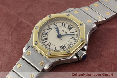 CARTIER SANTOS ACIER / OR QUARTZ [140930]