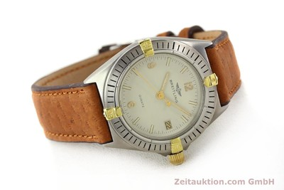 BREITLING WINDRIDER GILT STEEL QUARTZ [140931]