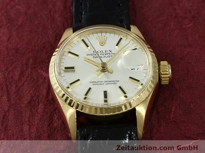 ROLEX LADY DATEJUST ORO 18 CT AUTOMATISMO KAL. 1161 [140933]
