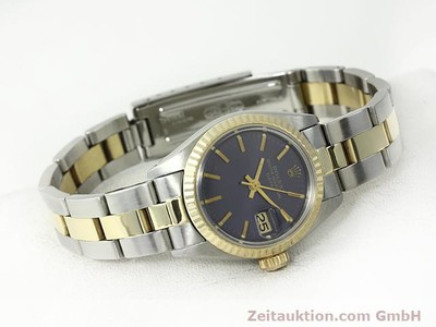ROLEX LADY DATE ACIER / OR AUTOMATIQUE KAL. 2030 [140934]