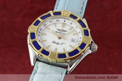 BREITLING LADY J STEEL / GOLD QUARTZ [140936]