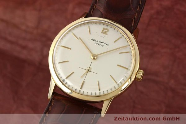 PATEK PHILIPPE ORO 18 CT AUTOMATISMO KAL. 12-600AT  [140944]