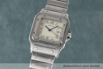CARTIER SANTOS STEEL QUARTZ [140947]