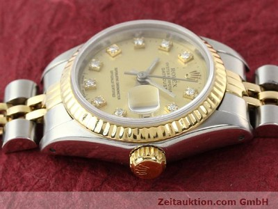ROLEX LADY DATEJUST ACIER / OR AUTOMATIQUE KAL. 2135 [140953]