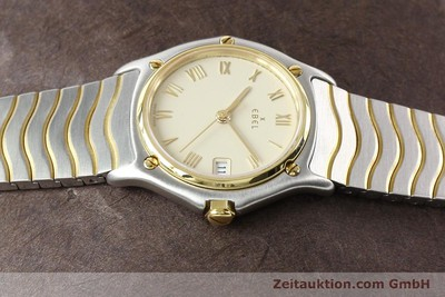 Ebel Classic Wave Stahl / Gold Quarz [140965]
