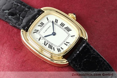 CARTIER ORO DE 18 QUILATES CUERDA MANUAL KAL. ETA 2512-1 [140966]