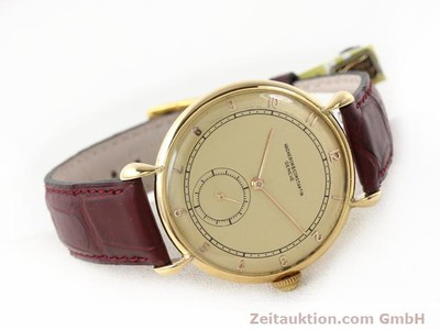 VACHERON & CONSTANTIN 18 CT GOLD MANUAL WINDING KAL. 453/2C [140967]
