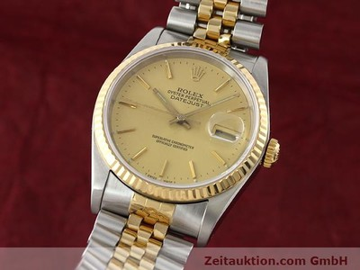 ROLEX DATEJUST STEEL / GOLD AUTOMATIC KAL. 3135 [140969]