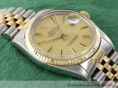 ROLEX DATEJUST STEEL / GOLD AUTOMATIC KAL. 3035 [140970]