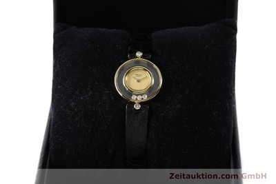 Chopard Happy Diamonds 18k Gold Quarz Kal. ETA 201001 [140972]