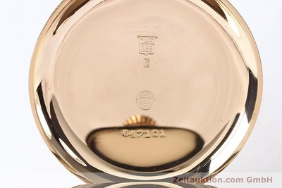 IWC TASCHENUHR 14 CT YELLOW GOLD MANUAL WINDING KAL. 31457 [140973]