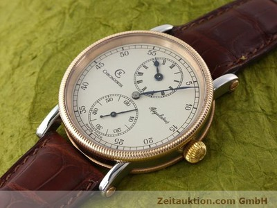 CHRONOSWISS REGULATEUR ACCIAIO CARICA MANUALE KAL. U6376 [140989]