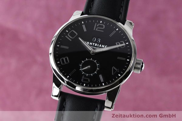 MONTBLANC TIMEWALKER STEEL AUTOMATIC KAL. 4810906 [140993]