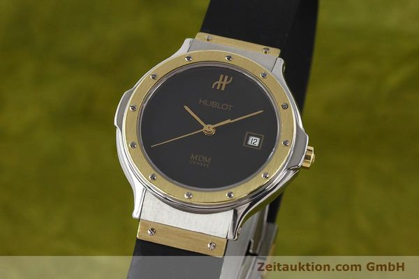 HUBLOT MDM GILT STEEL QUARTZ [140994]