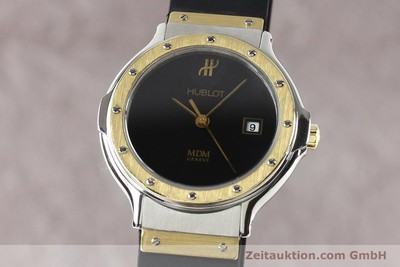 HUBLOT MDM STEEL / GOLD QUARTZ KAL. ETA 956112 [140995]