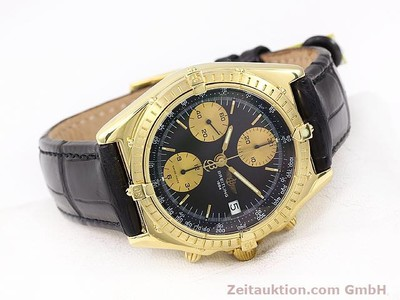 BREITLING CHRONOMAT 18 CT GOLD AUTOMATIC KAL. VALJ. 7750 [140997]