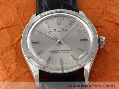 ROLEX OYSTER PERPETUAL ACERO AUTOMÁTICO KAL. 1570 [141002]