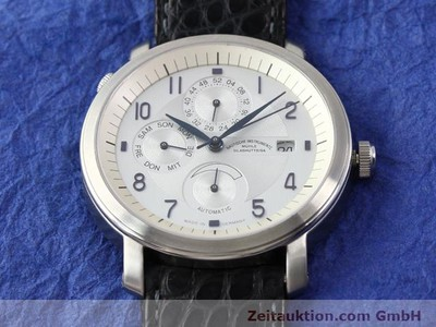 MÜHLE BUSINESS TIMER STEEL AUTOMATIC KAL. ETA 2892A2 [141004]