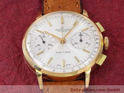 BREITLING TOP TIME 18 CT GOLD MANUAL WINDING KAL. VENUS 188 [141007]