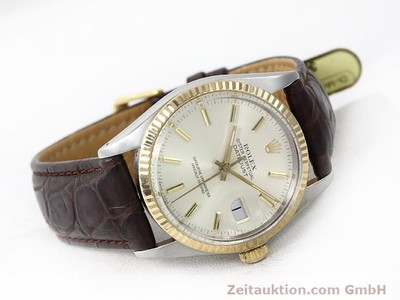 ROLEX DATEJUST STEEL / GOLD AUTOMATIC KAL. 3035 [141014]