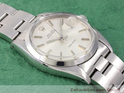 ROLEX PRECISION STEEL MANUAL WINDING KAL. 1225 [141015]
