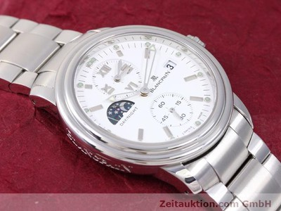 BLANCPAIN LEMAN DAY NIGHT GMT AUTOMATIK STAHL CAL 5L60 VP: 9220,-Euro [141018]