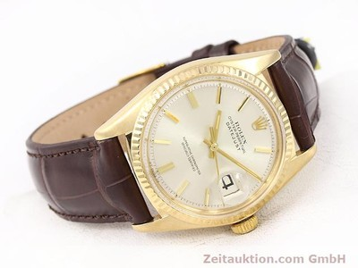 ROLEX DATEJUST ORO 18 CT AUTOMATISMO KAL. 1570 [141024]