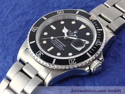 ROLEX SUBMARINER STEEL AUTOMATIC KAL. 3035 [141030]