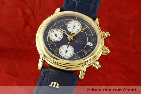 MAURICE LACROIX CRONEO CHRONOGRAPH GOLD-PLATED AUTOMATIC KAL. ETA 7750 [141049]