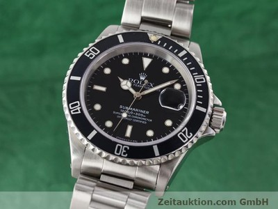 ROLEX SUBMARINER STEEL AUTOMATIC KAL. 3135 [141055]
