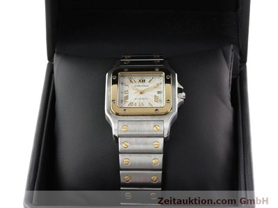 CARTIER SANTOS STEEL / GOLD AUTOMATIC KAL. 120 (ETA 2000-1) [141063]