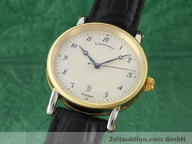 CHRONOSWISS KAIROS GILT STEEL AUTOMATIC KAL. ETA 2892-2  [141064]