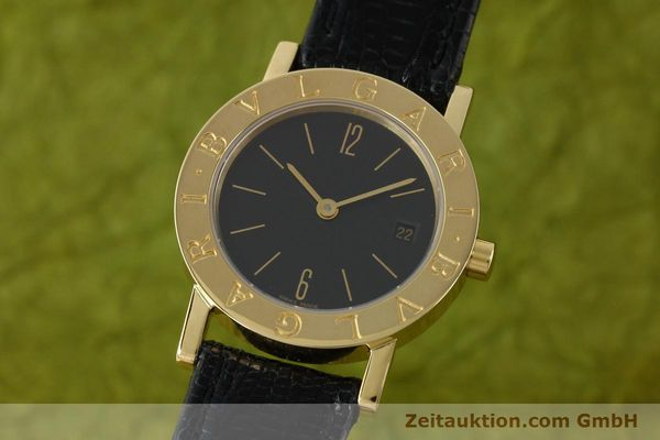 BVLGARI 18 CT GOLD QUARTZ KAL. 712 MBBE [141070]