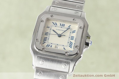 CARTIER SANTOS STEEL QUARTZ [141081]