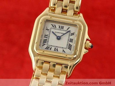 CARTIER PANTHERE 18 CT GOLD QUARTZ KAL. 157.06 [141083]