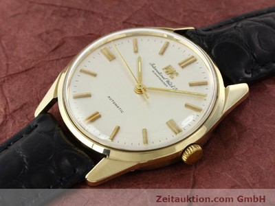 IWC 14 CT YELLOW GOLD AUTOMATIC KAL. C.854 [141087]