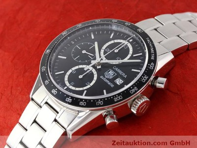TAG HEUER CARRERA STEEL AUTOMATIC KAL. 16 [141110]
