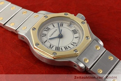 CARTIER SANTOS ACIER / OR QUARTZ [141119]