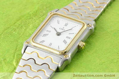 Ebel Classic Wave Stahl / Gold Quarz [141120]
