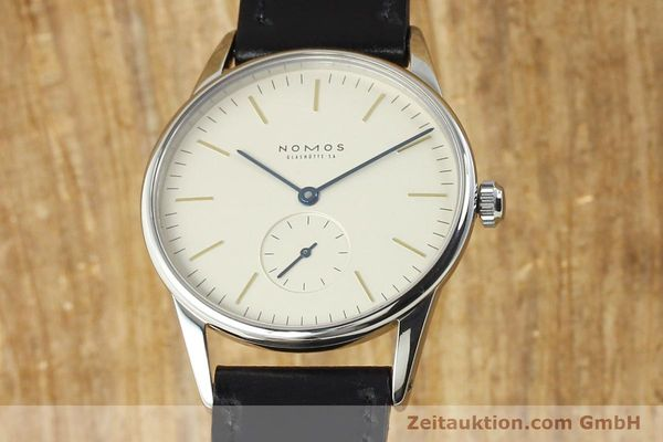 NOMOS ORION STEEL MANUAL WINDING KAL. ETA 7001 [141121]