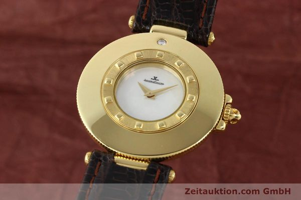 JAEGER LE COULTRE RENDESVOUS 18 CT GOLD QUARTZ KAL. 609 VINTAGE [141122]