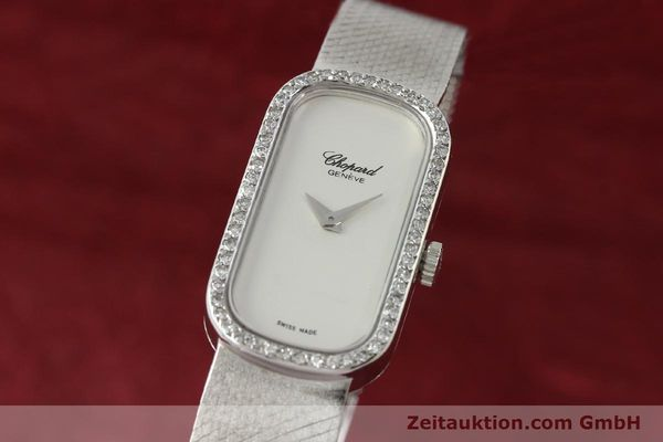 CHOPARD ORO BLANCO DE 18 QUILATES CUERDA MANUAL KAL. F.E.F 664  [141150]
