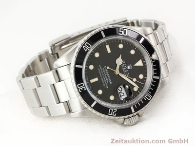 ROLEX SUBMARINER STEEL AUTOMATIC KAL. 3135 [141154]